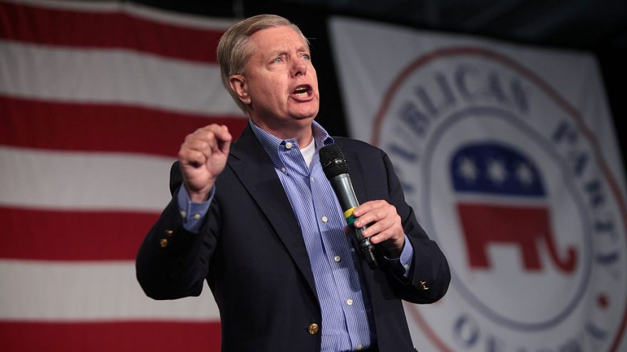 "Lindsey Graham Rips Trump Visa Ban, Cites ""Effect on Economy"""