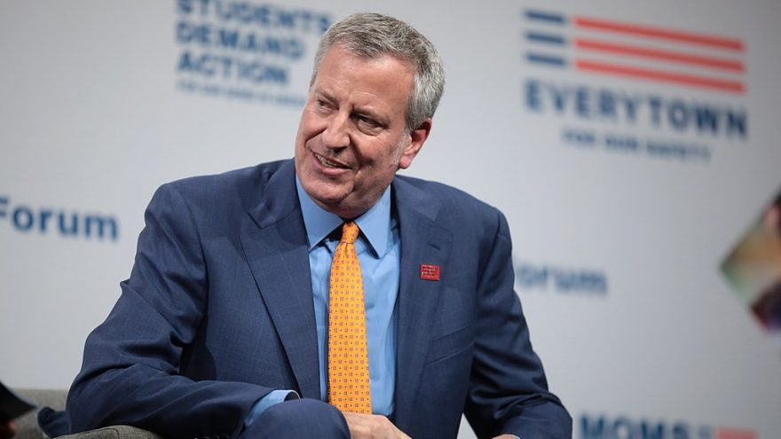 "DeBlasio Blames Police for ""Fomenting Hatred"" in NYC"