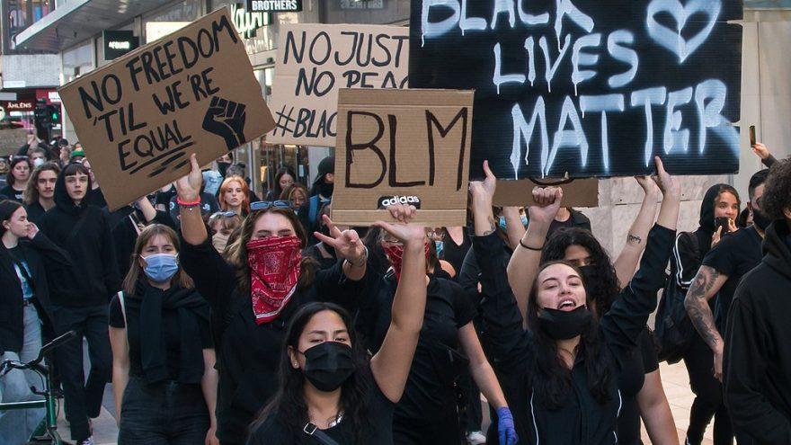https://commons.wikimedia.org/wiki/File:Black_Lives_Matter_in_Stockholm_2020.jpg